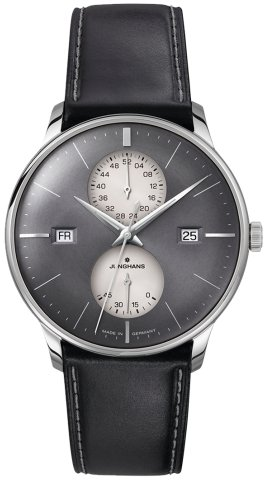 Junghans Meister Agenda Automatic Watch, J810.5, 40,4mm, Anthracite, 027/4567.00