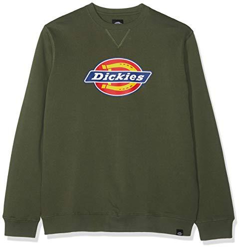 Oliven-armee Pullover-sweatshirt (Dickies Herren Harrison Sweatshirt, Grün (Dark Olive DKO), X-Large)