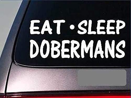CELYCASY G852 Aufkleber für Doberman/Doberman/Doberman/Pinscher, 20,3 cm (Doberman Pinscher Bilder)