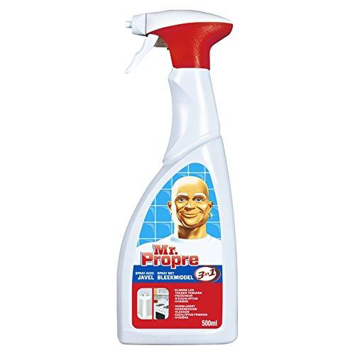 Mr. Propre - Spray Produit de Nettoyage Eau de Javel 500 ml - Lot de 3