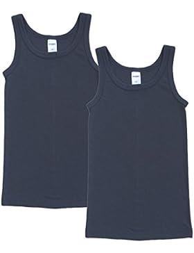 HERMKO 62800 2er Pack Kinder Funktionsunterhemd für Jungen und Mädchen