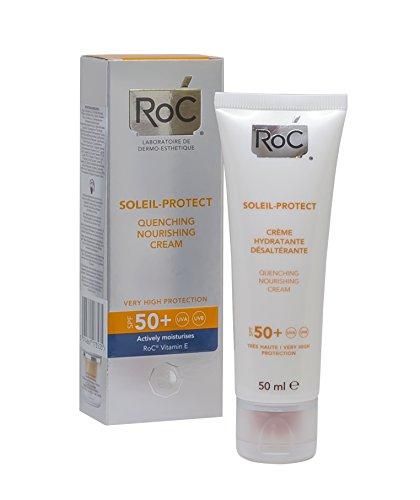 RoC Soleil-Protect Crème Hydratante Désaltérante SPF 50+ 50 ml