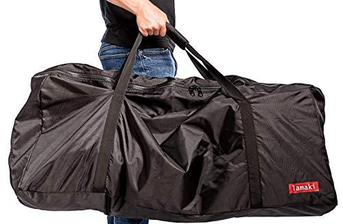 lamaki:lab Transporttasche E-Scooter Hochwertig Stylisch Komfortabel Universal Xiaomi Mijia M365 Elektro Roller Tragetasche Bag Lenker Robust Reissfest hohe Qualität wasserdicht 110*45*50 cm schwarz