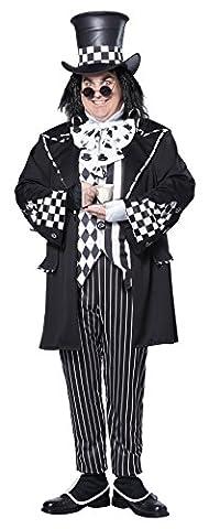 Hutmacher XXL Kostüm Halloween Alice im Wunderland Karneval Verkleidung Herren (2016 Plus Size Kostüme)