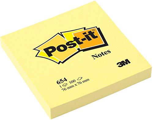 post-it-654-haftnotiz-notes-76-x-76-mm-70-g-qm-100-blatt-12-block-gelb