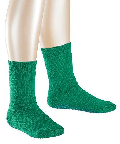 FALKE Jungen Socken Catspads 1er Pack, Grün (Grass Green 7290), 27-30