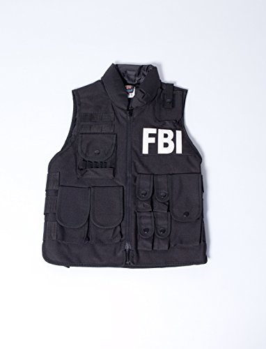 Fbi Agent Kostüm Weste (Weste FBI Kinder one size)