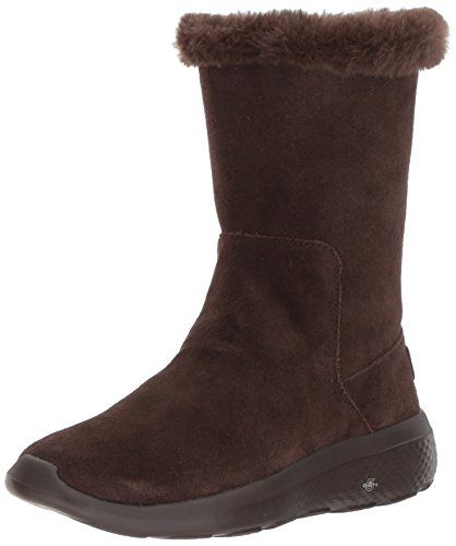 Skechers Damen on-The-Go City 2 Stiefel, Braun (Chocolate), 41 EU