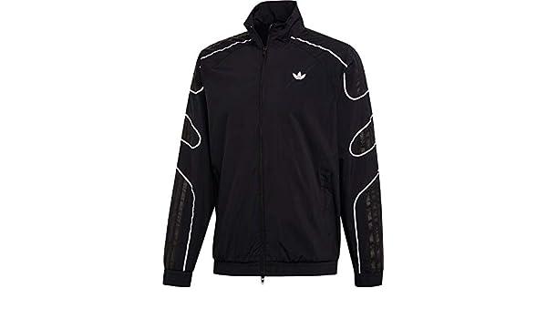 Adidas Flamestrike Woven Track Top Jacket Black:
