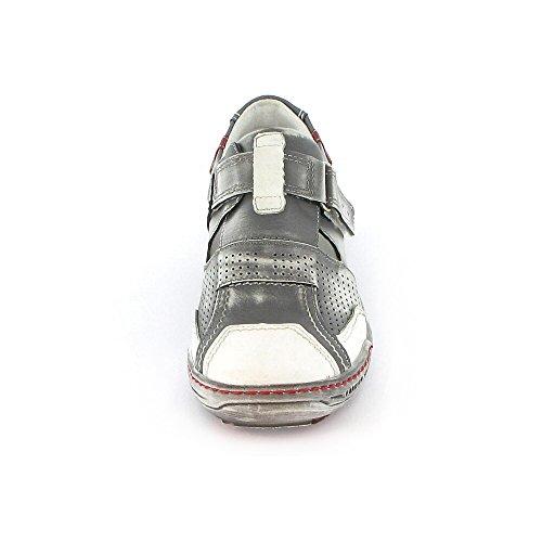 Kacper 2-4308-560+656+729, Sneaker donna Grigio (grau komb)