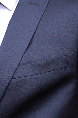 Lanificio F.lli Cerruti - Costume Naple Prestige 3 01 Marine Bleu
