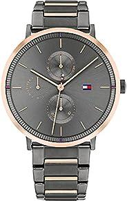 Tommy Hilfiger Women's Analog Quartz Watch with Stainless Steel Strap 178