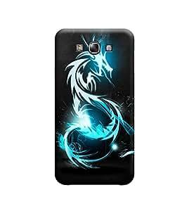 Ebby Premium 3d Desinger Printed Back Case Cover For Samsung E7 (Premium Desinger Case)