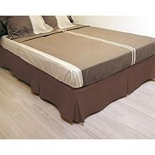 Oculta-somier 90x190 cm chocolate