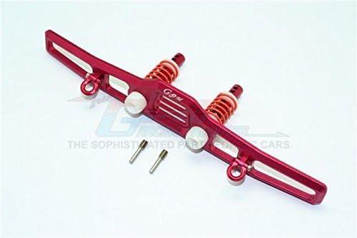 Traxxas TRX-4 Trail Defender Crawler Upgrade Pièces Aluminium Front Bumper Absorber  D-Rings - 1 Set Red | Une Grande Variété De Modèles
