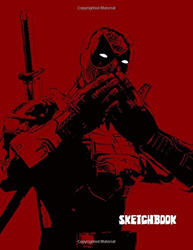 SKETCHBOOK: A Red Superhero themed Sketchbook and Notebook for your everyday needs.