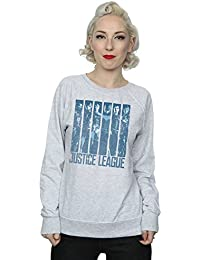 DC Comics Women's Justice League Movie Double Indigo Sweatshirt