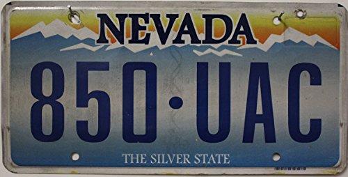 USA Nummernschild NEVADA The Silver State ~ US Kennzeichen ~ License Plate