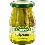 Feinkost Dittmann Pfefferonen mild-pikant, 170 g
