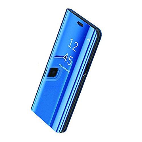 Pacyer Samsung Galaxy S8 / S8 Plus/Note 8 Hülle Business Serie Hart Case Spiegelnd Cover Kratzfeste Hard Prämie PC Bumper Anti-Scratch Handyhülle Schutzhülle für (Blau, Galaxy S8)