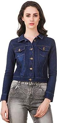 Clo Clu Women's Denim Jacket