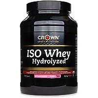 Crown Sport Nutrition ISO Whey Hydrolyzed Proteína de Suero de Leche, Suplemento para Deportistas,