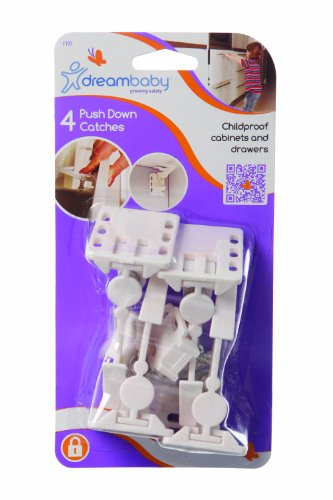 dreambaby-push-down-catches-pack-of-4-white