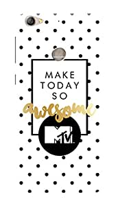 MTV Gone Case Mobile Cover for LeEco Le 1s