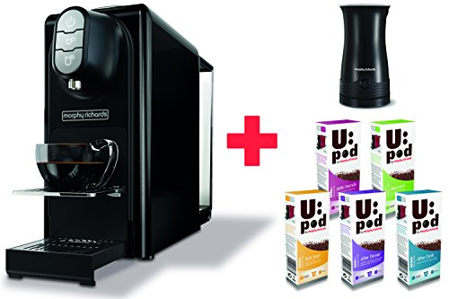 Morphy-Richards-Accents-Black-Coffee-Machine-Milk-Frother-50-Coffee-Capsules-Nespresso-Compatible