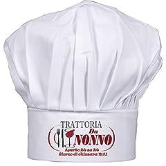 Idea Regalo - Cappello cuoco Nonno