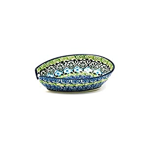 Polish Pottery Spoon Rest – Tranquility