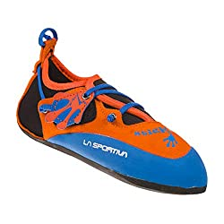 LA SPORTIVA Stickit Kinderkletterschuhe orange/Blue