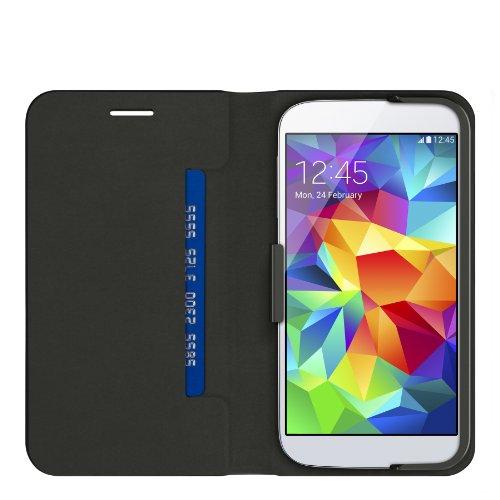 Belkin Basic Wallet Folio (geeignet für Samsung Galaxy S5) schwarz -