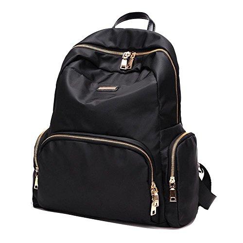 Aoligei En nylon Double sac à bandoulière femme sac Oxford Fashion version coréenne marée loisirs femelle sac à dos Collège vent sac