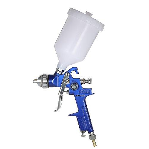 Roeam 1,4mm Mini HVLP Luftspritzpistole Touch Up Lackierer Sprayer 600 ml Schwerkraft Airbrush Kit Auto Auto Möbel Finishing Mantel Malerei Sprühwerkzeug