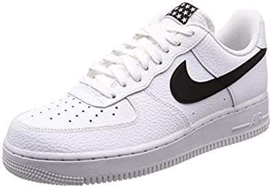 Nike Herren Air Force 1 '07 Basketballschuhe, Weiß (White/Black 103)