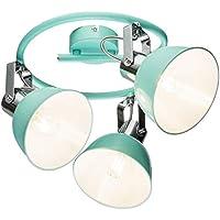 LED Kristall Decken Leuchte Wohn Zimmer Rondell Spot Lampe Strahler verstellbar
