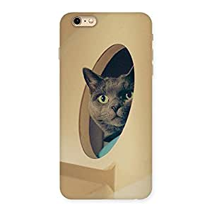 NEO WORLD Exos Kitty Back Case Cover for iPhone 6 Plus 6S Plus