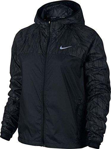 Nike Shield Flash Damen Jacke, schwarz, L