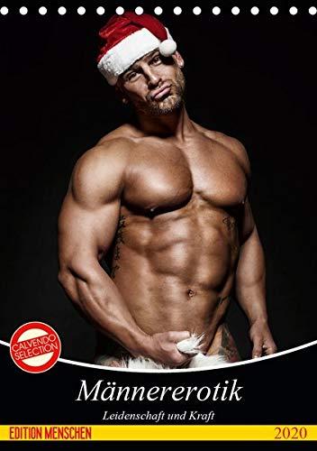 Männererotik. Leidenschaft und Kraft (Tischkalender 2020 DIN A5 hoch): Stilvolle Männererotik und starke Muskeln für schöne Momente (Monatskalender, 14 Seiten ) (CALVENDO Menschen)