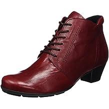 SHOWHOW Damen Nieten Chelsea Boots Stiefeletten Mit Absatz Rot 42 EU VYLHzkWp5