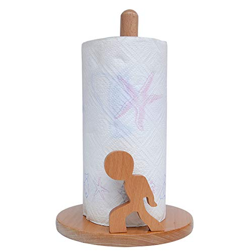 AIOXY Toilettenpapierhalter Palisander Rollenhalter Bad Küche Handtuchabroller Gewebekasten, Tier, hohe Qualität,A4,18x28.8cm