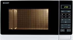 Sharp R-342INW Four Micro-Onde Classique 25 L 900 W Classe: A+++ Argent