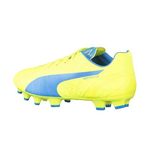 Puma  evoSPEED 4.4 FG, Chaussures de football hommes Jaune