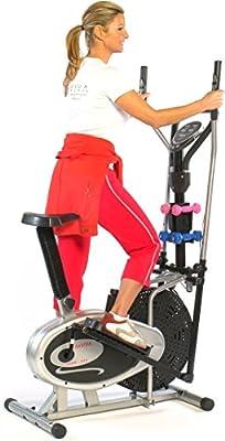 AsVIVA 2 in 1 CROSSTRAINER & HEIMTRAINER Fitnessgerät