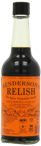 Hendersons Spicy Yorkshire Relish 284 ml (Pack of 4)