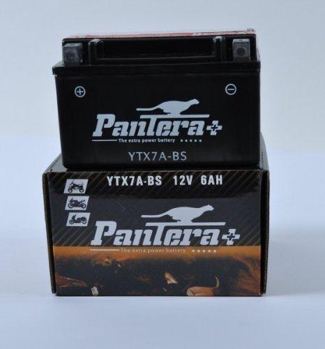 Stinger Laser (Pantera Motorrad Roller Säure Batterie YTX7A-BS SMC Stinger 170)