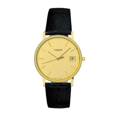 Tissot T71.3.412.21 Montre bracelet Femme, Cuir, couleur: noir