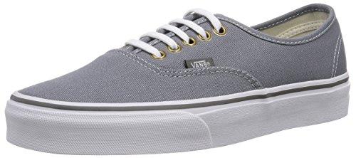 Vans U AUTHENTIC, Low-Top Sneaker unisex adulto, (Grau ((Rivet) Monumen EWU)), 43 EU  (9 UK) (10 US)