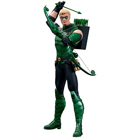 Justice League The New 52 - Green Arrow 17cm Fig. [Import allemand]